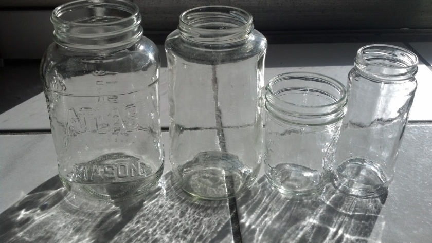 glass jars 5-27