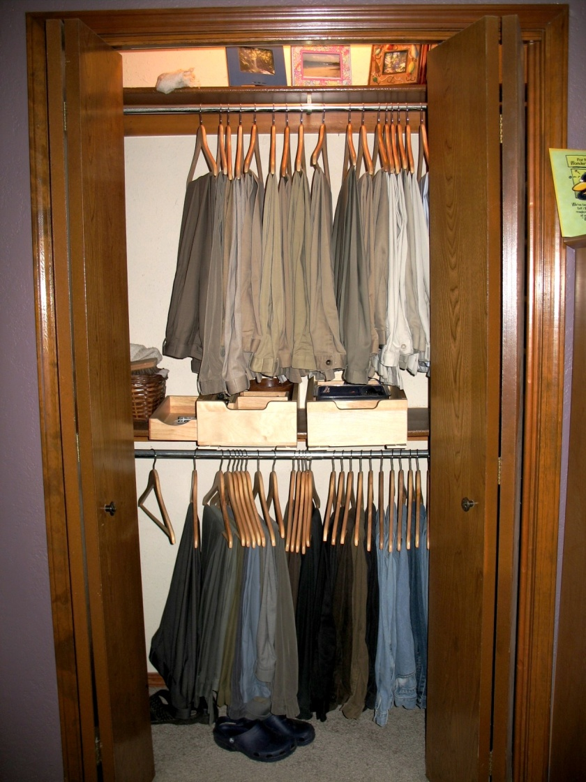 Sussex mans closet