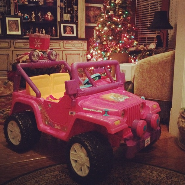 barbie-jeep