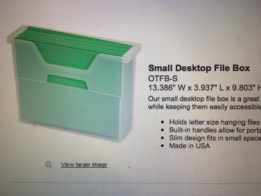 Small desktop file box - IMG_4168